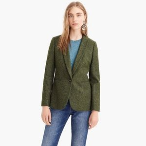 J Crew Parke Blazer in English Wool, Green